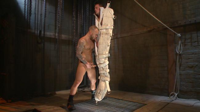Bound Gods - Tommy Regan - Damien Michaels - Enhanced Interrogation: Detained Stud Faces a Horny, Sadistic Agent #12