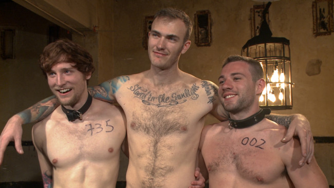 Bound Gods - Christian Wilde - Dylan Knight - Scotty Zee - Bound Gods Live: New House Slaves Tested by the Kink Olympics #2