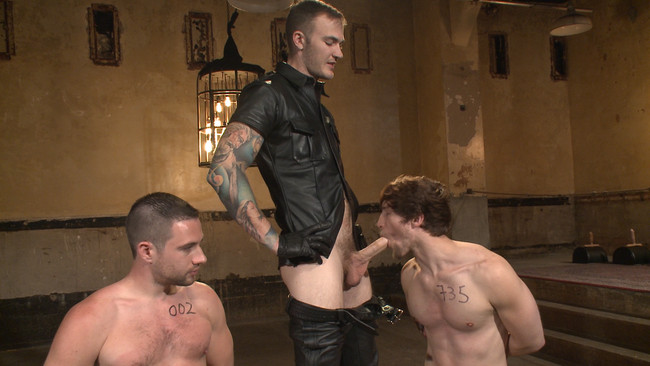 Bound Gods - Christian Wilde - Dylan Knight - Scotty Zee - Bound Gods Live: New House Slaves Tested by the Kink Olympics #11