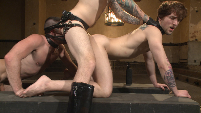 Bound Gods - Christian Wilde - Dylan Knight - Scotty Zee - Bound Gods Live: New House Slaves Tested by the Kink Olympics #13
