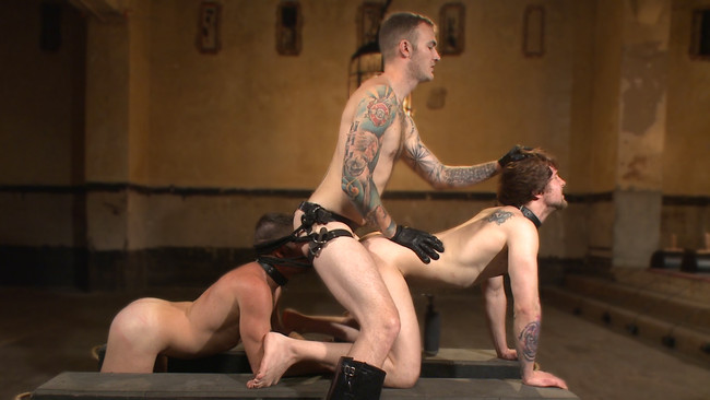 Bound Gods - Christian Wilde - Dylan Knight - Scotty Zee - Bound Gods Live: New House Slaves Tested by the Kink Olympics #15