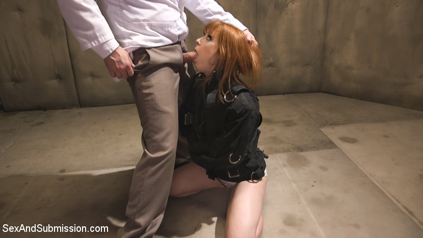 Penny pax bottom obsession. Penny Pax is held in a psych ward to cure her obsession with backside sex. When Dr. Pistol takes a special interest in her case, Penny's prescription includes hardcore backside sex with lots of dirty back and forth between her cunt and her analy straitjacketed rough give suck job, big cunt pounding in tight bondage, gags, drooling and beautiful, all natural bouncing tits.