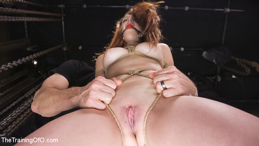 Nora riley s bum slave training. Delicious all natural Nora Riley is a slave girl in the making when she submits her will and all her holes to her trainer in this Training of O update. Hardcore bondage, booty fucking, bondage and pain play are all featured in this update.