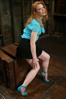 Fiery redhead Madison Young is a true pain slut