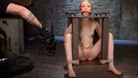 Breaking in the new girl with heavy bondage, domination, and mind blowing orgasms