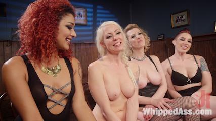 Dyke Bar 2: Lorelei Lee Devoured by Hot Horny Lesbians!