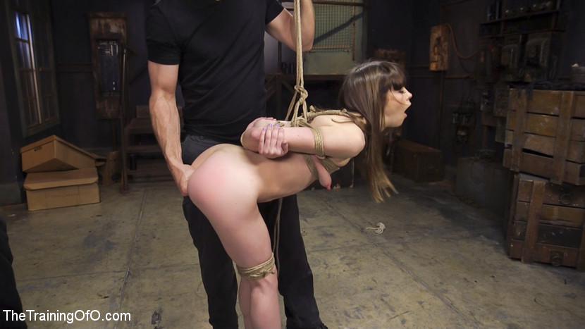Backside bondage slave training alexa nova. Booty slave girl