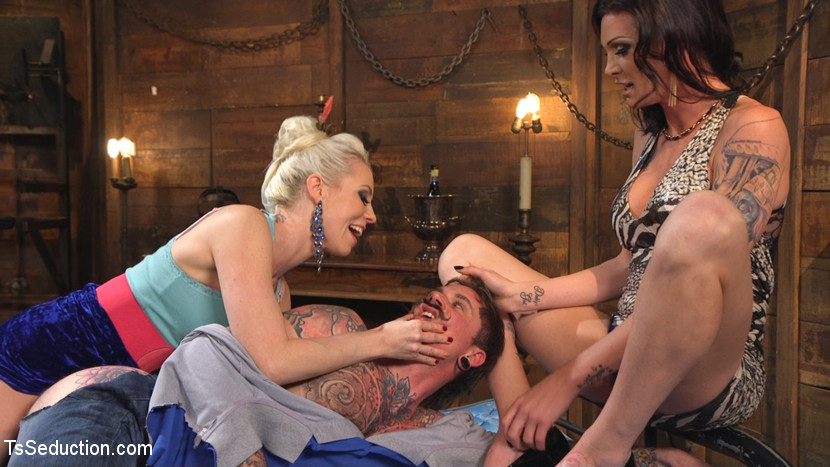 Cocky playboy shamed dominated in wild two on one threesome. Penishy mustachioed playboy Ryan Patrix is used to getting what he wants, he thinks, as he saunters up to the devastatingly sweet Morgan Bailey and Lorelei Lee. But this pathetic bitch hole has no have sexed clue. The two beauties throw careless laughs at Ryan's paper-thin bravado and scheme to punished him for his entitled patriarchal bullshit attitude by seducing him with their feminine wiles, drawing him back to their dungeon like a disgusting whiny bug into a spider's web. What happens next, you wonder A have sexed dream. Heel licking foot worship! Face slapping! Face smothering with Morgan's luscious ass! penish sucking! Spanking! ejaculate eating! butthole eating! The ultimate degradation of replacing this Patrix playboy have sex hole's pathetic cock with a thick dick so that the graceful Morgan can play with both of her toys at once - her delicate cock in Ryan's dirty pit, and his strapped-on shame deep in Lorelei's glowing tight pink asshole! A crazy. Fucking. Anal. Thick cock sucking. Threesome. Enjoy.