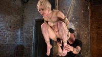 Blonde-Pain-Slut-in-Brutal-Bondage-and-Suffering-Grueling-Punishment