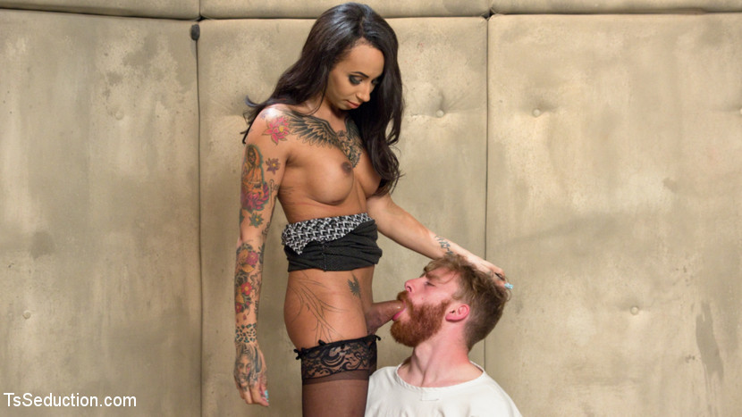 Dr honey foxx and her hard heavy cock. Dr. Honey Foxxx administers 7 days of intense treatment on sex addict Sebastian Keys. Sebastian can't stop thinking of his own cock. Honey Foxx uses her huge violent cock to teach him that her cock is what will be getting all the attention. Honey is on fire with her massive penish ramming his fuck hole deep and covering his face with cum!