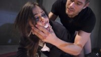 Rookie detective Kacie Castle is taken hostage by Xander Corvus. Xander takes out his legal frustrations on the helpless cop with rough anal sex