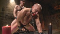 New dom Jason Maddox breaks in his slave with psychological torment, sadistic beatdowns and hot wax.