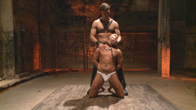 Bound Gods - Jason Maddox - Eli Hunter - New Dom - Strong, Silent with a Wicked Smile #2