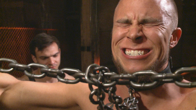 Bound Gods - Jason Maddox - Eli Hunter - New Dom - Strong, Silent with a Wicked Smile #10