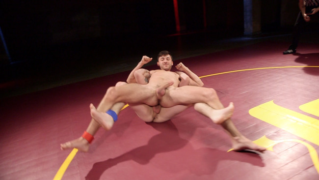 Naked Kombat - Scott DeMarco - Jackson Fillmore - Boner Fight - Winner gets to fuck the loser #3