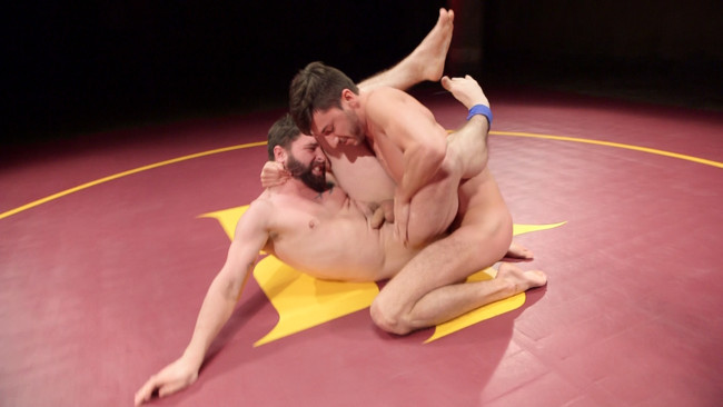 Naked Kombat - Scott DeMarco - Jackson Fillmore - Boner Fight - Winner gets to fuck the loser #4