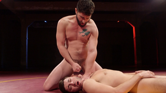 Naked Kombat - Scott DeMarco - Jackson Fillmore - Boner Fight - Winner gets to fuck the loser #9