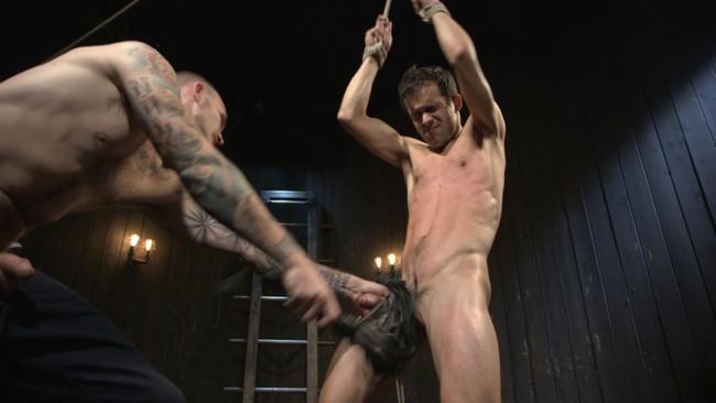 Bound Gods - Christian Wilde - Max Woods - Hesitant Stud Transformed into Mr Wilde's Bondage Slut #15
