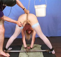Inka chained up and Hogtied!