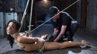 Brand new to bondage, Kira wnats to see what hardcore bondage and domination feel like, so we take her on a journey to show her what true suffering is