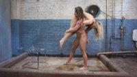 Spanked until she Gapes, Angel Allwood gets the Ultimate Gape and Fart Training.