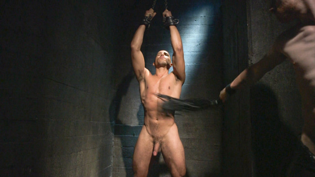 Bound Gods - Sebastian Keys - Mike Maverick - Mr Keys beats and fucks tough new slave #5