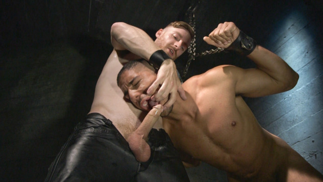 Bound Gods - Sebastian Keys - Mike Maverick - Mr Keys beats and fucks tough new slave #6