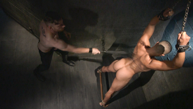 Bound Gods - Sebastian Keys - Mike Maverick - Mr Keys beats and fucks tough new slave #8
