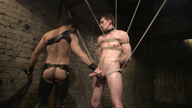 Bound Gods - Jason Maddox - Jack Hunter - Mr. Maddox's Brutal Night of Torment for his New Slave #13