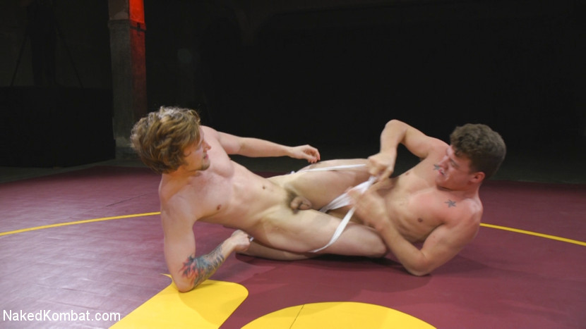 match wrestling giant dominates Gay in