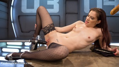 Fresh Meat Bobbi Dylan is fucked into oblivion, then finished of with a sybian ride.