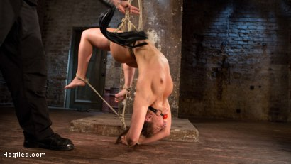 3 Days of Danger - Day 2 - Abella Suffers Beautifully in Grueling Bondage at the Hands of The Pope