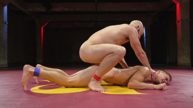 Naked Kombat - Max Woods - Dylan Strokes - Hot Newcomer Max Woods takes on undefeated Dylan Strokes #3