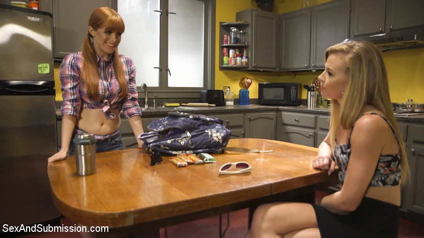 My slutty sister. An backside Taboo movie starring veteran performer Penny Pax with elegant newcomer Nicole Clitman doing her first backside scene! Seth Gamble dominates both girls through hot backside scenes and BDSM action.When Penny Pax catches her slutty step sister, Nicole Clitman, fuck around with her boyfriend, Seth Gamble, she throws her slutty sister out of her house. But Gamble dominates two girls through a humiliating make up scene while fuck Nicole in the backside for her first backside scene. Penny Pax is there for the nasty ATM and pussy licking action while her slutty sister gets her backside pounded into submission by Seth.Penny's backside scene is amazing as always, with her legs tied wide open giving Seth full access to all of Penny's slutty holes. Nicole writhes in a strict hogtie and takes the ATM action as Seth fucks her sister. Gamble brings it together in the end with explosive dual orgasms for both the girls and fat load of come across both their faces. This movie is all about super hot boy / girl / girl BDSM action with lots of backside and incest fantasy!