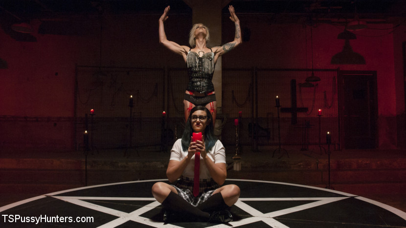 Penny barber summons baphomet to seek revenge on mother