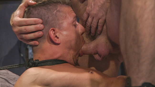 Bound Gods - Trenton Ducati - Alexander Gustavo - Anal Whore taken for a Candlelit Night of Hot Wax and Hard Flogging #12