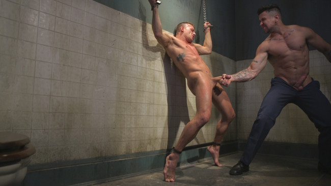 Bound Gods - Trenton Ducati - Alexander Gustavo - Anal Whore taken for a Candlelit Night of Hot Wax and Hard Flogging #13