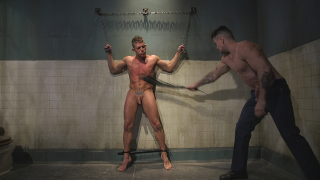 Bound Gods - Trenton Ducati - Alexander Gustavo - Anal Whore taken for a Candlelit Night of Hot Wax and Hard Flogging #6