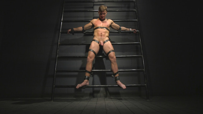 Bound Gods - Sebastian Keys - Jordan Boss - Straight stud wants only bondage but he's made to take cock up his ass #1
