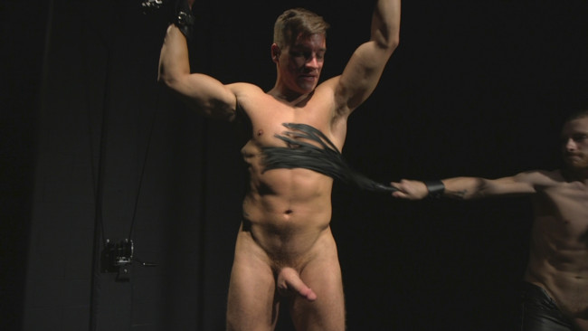 Bound Gods - Sebastian Keys - Jordan Boss - Straight stud wants only bondage but he's made to take cock up his ass #9