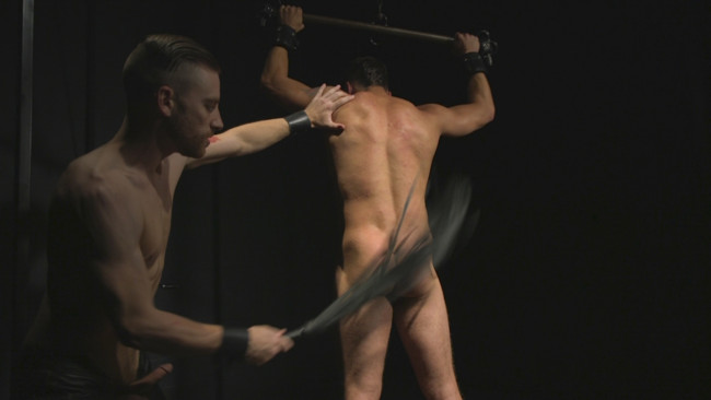 Bound Gods - Sebastian Keys - Jordan Boss - Straight stud wants only bondage but he's made to take cock up his ass #10