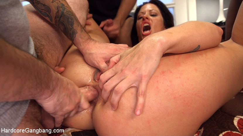 Hot milf wife gangbanged and glazed by husband s friends. A