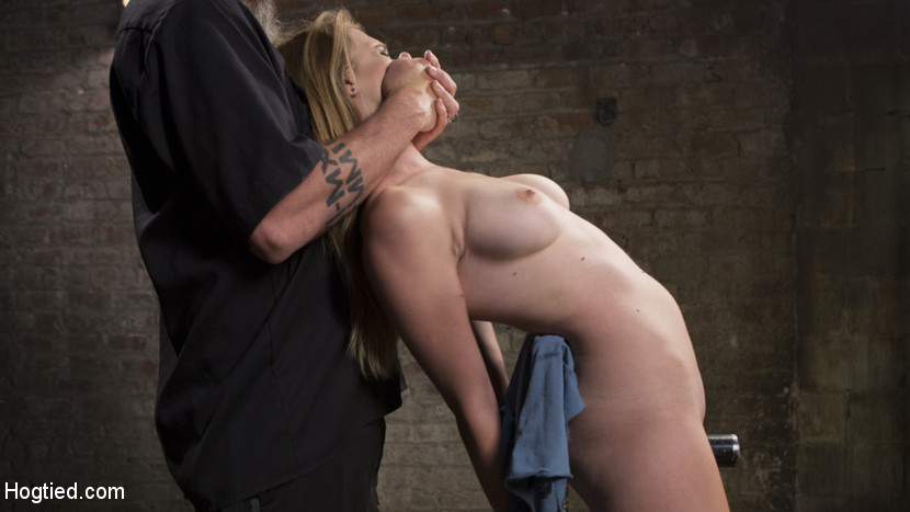 Brutal predicament bondage relentless molest and screaming