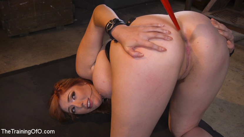 Slave training lauren phillips your whore your vagina your slut. Big tit juicy redhead Lauren Phillips learns a very important lesson from her slave trainer: She is His Whore, His vagina and His Bitch. Lauren endures tight bondage, gags, whips and a giant cock in her analy for a heavy analy have intercourse in this slave training update!