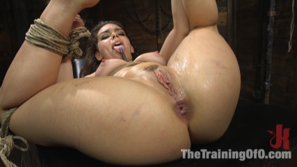Training Kimber Woods to be the Best Little Anal Whore Ever