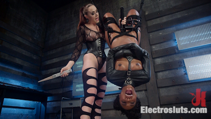 Shock the System: Sexual deviant bound & lesbian electrosexed!
