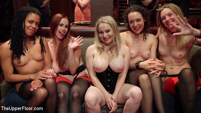Slave Orgy Unchained