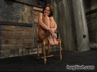 gagging Holly Wellin exposes her dedication to bondage