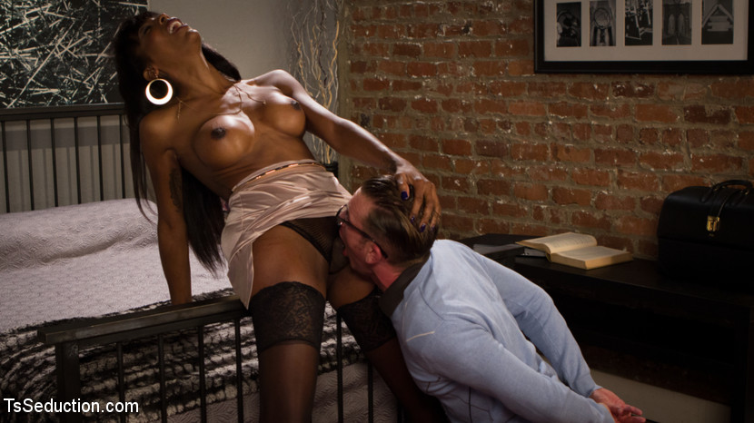 Will havoc has every hole dream satisfied by libidinous black cock. Will Havoc dreams of fuck a nice black woman, and finally gets his chance when his wife Cherry Torn sets him up with her graceful friend Natassia Dreams! Will can hardly contain himself waiting for the lustful lady Dreams to come over and fulfill every one of his dreams! As soon as she arrives, Will stammers and stutters, trying to explain to her how nice he thinks she is. But Natassia has heard it before! She tears this white boy virgin to shreds, fuck him deep and fast in his slutty butthole and choking him until he drools on her divine, lustful black cock!