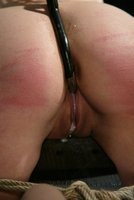 Maya Matthew bound, made to cum, and severely caned.